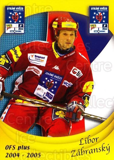 2004-05 Czech OFS Czech/Slovak AS Game #22 Libor Zabransky<br/>1 In Stock - $2.00 each - <a href=https://centericecollectibles.foxycart.com/cart?name=2004-05%20Czech%20OFS%20Czech/Slovak%20AS%20Game%20%2322%20Libor%20Zabransky...&quantity_max=1&price=$2.00&code=276202 class=foxycart> Buy it now! </a>