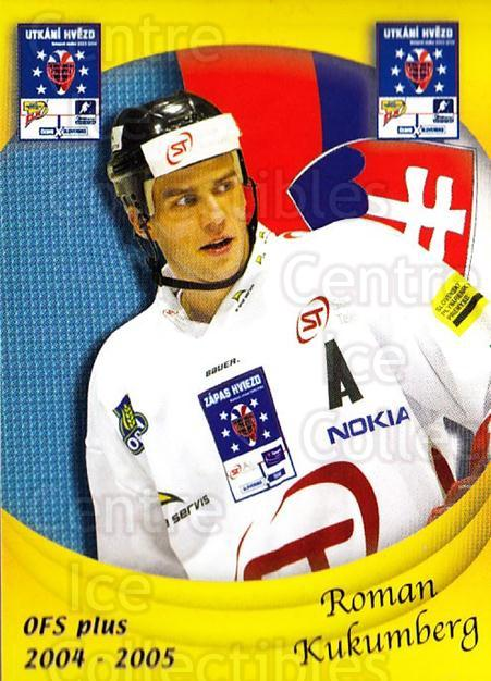 2004-05 Czech OFS Czech/Slovak AS Game #35 Roman Kukumberg<br/>2 In Stock - $2.00 each - <a href=https://centericecollectibles.foxycart.com/cart?name=2004-05%20Czech%20OFS%20Czech/Slovak%20AS%20Game%20%2335%20Roman%20Kukumberg...&quantity_max=2&price=$2.00&code=276203 class=foxycart> Buy it now! </a>