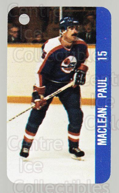 1983-84 NHL Key Tags #137 Paul Maclean, Serge Savard<br/>12 In Stock - $2.00 each - <a href=https://centericecollectibles.foxycart.com/cart?name=1983-84%20NHL%20Key%20Tags%20%23137%20Paul%20Maclean,%20S...&quantity_max=12&price=$2.00&code=27631 class=foxycart> Buy it now! </a>