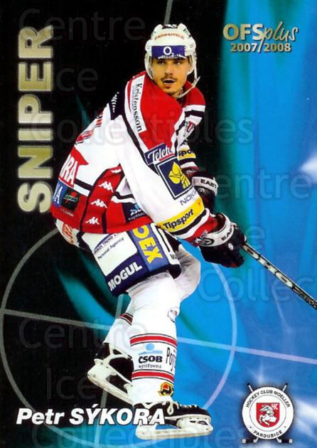 2007-08 Czech OFS Goals Leaders #1 Petr Sykora<br/>1 In Stock - $2.00 each - <a href=https://centericecollectibles.foxycart.com/cart?name=2007-08%20Czech%20OFS%20Goals%20Leaders%20%231%20Petr%20Sykora...&quantity_max=1&price=$2.00&code=276368 class=foxycart> Buy it now! </a>
