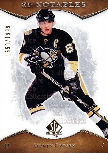 2007-08 SP Authentic #115 Sidney Crosby<br/>1 In Stock - $5.00 each - <a href=https://centericecollectibles.foxycart.com/cart?name=2007-08%20SP%20Authentic%20%23115%20Sidney%20Crosby...&price=$5.00&code=276467 class=foxycart> Buy it now! </a>