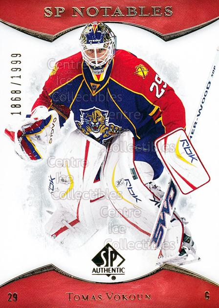 2007-08 SP Authentic #135 Tomas Vokoun<br/>3 In Stock - $2.00 each - <a href=https://centericecollectibles.foxycart.com/cart?name=2007-08%20SP%20Authentic%20%23135%20Tomas%20Vokoun...&quantity_max=3&price=$2.00&code=276487 class=foxycart> Buy it now! </a>