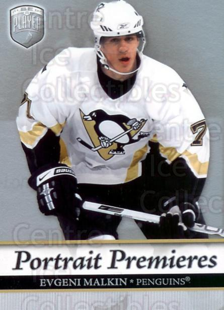 2006-07 Be A Player Portraits #103 Evgeni Malkin<br/>7 In Stock - $10.00 each - <a href=https://centericecollectibles.foxycart.com/cart?name=2006-07%20Be%20A%20Player%20Portraits%20%23103%20Evgeni%20Malkin...&quantity_max=7&price=$10.00&code=276615 class=foxycart> Buy it now! </a>