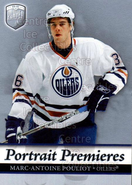 2006-07 Be A Player Portraits #107 Marc-Antoine Pouliot<br/>14 In Stock - $2.00 each - <a href=https://centericecollectibles.foxycart.com/cart?name=2006-07%20Be%20A%20Player%20Portraits%20%23107%20Marc-Antoine%20Po...&quantity_max=14&price=$2.00&code=276619 class=foxycart> Buy it now! </a>