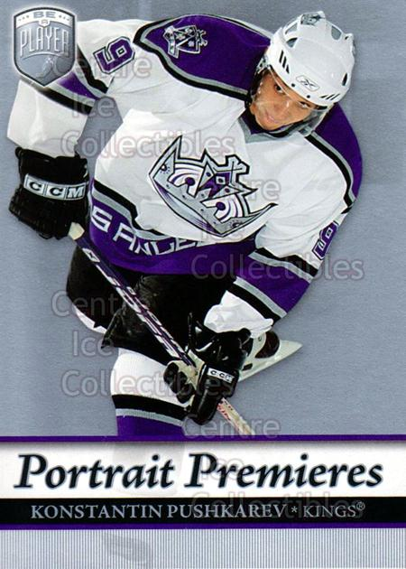 2006-07 Be A Player Portraits #108 Konstantin Pushkaryov<br/>13 In Stock - $2.00 each - <a href=https://centericecollectibles.foxycart.com/cart?name=2006-07%20Be%20A%20Player%20Portraits%20%23108%20Konstantin%20Push...&quantity_max=13&price=$2.00&code=276620 class=foxycart> Buy it now! </a>