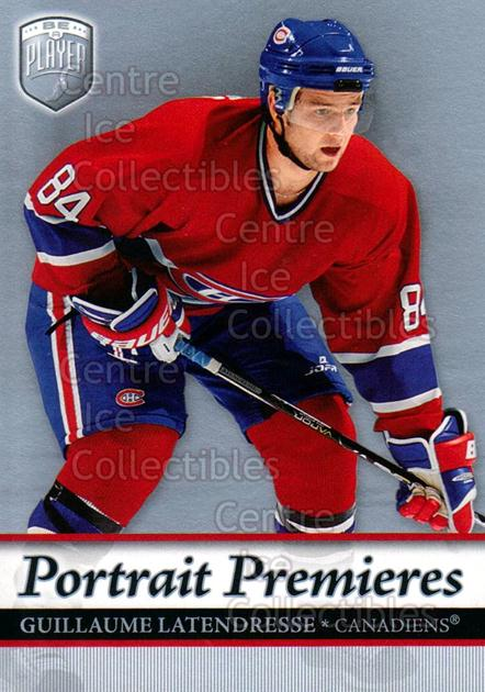 2006-07 Be A Player Portraits #112 Guillaume Latendresse<br/>10 In Stock - $2.00 each - <a href=https://centericecollectibles.foxycart.com/cart?name=2006-07%20Be%20A%20Player%20Portraits%20%23112%20Guillaume%20Laten...&quantity_max=10&price=$2.00&code=276624 class=foxycart> Buy it now! </a>