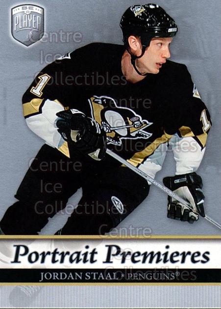 2006-07 Be A Player Portraits #113 Jordan Staal<br/>12 In Stock - $2.00 each - <a href=https://centericecollectibles.foxycart.com/cart?name=2006-07%20Be%20A%20Player%20Portraits%20%23113%20Jordan%20Staal...&quantity_max=12&price=$2.00&code=276625 class=foxycart> Buy it now! </a>