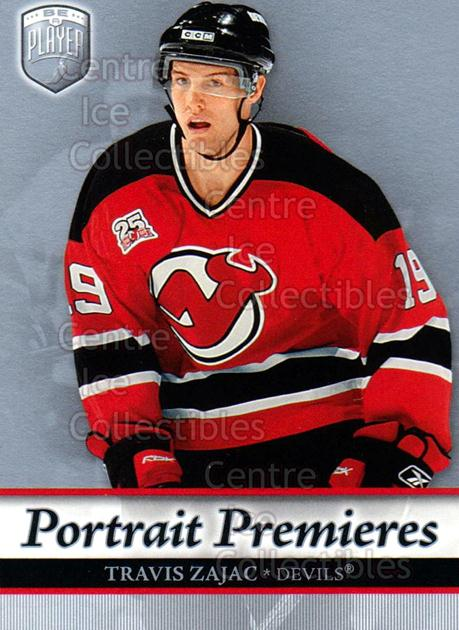 2006-07 Be A Player Portraits #117 Travis Zajac<br/>10 In Stock - $2.00 each - <a href=https://centericecollectibles.foxycart.com/cart?name=2006-07%20Be%20A%20Player%20Portraits%20%23117%20Travis%20Zajac...&quantity_max=10&price=$2.00&code=276629 class=foxycart> Buy it now! </a>