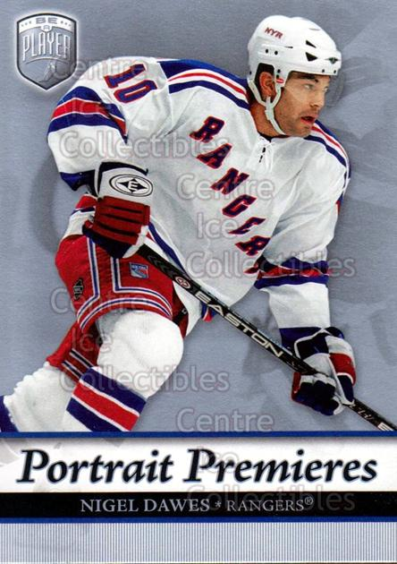 2006-07 Be A Player Portraits #118 Nigel Dawes<br/>15 In Stock - $2.00 each - <a href=https://centericecollectibles.foxycart.com/cart?name=2006-07%20Be%20A%20Player%20Portraits%20%23118%20Nigel%20Dawes...&quantity_max=15&price=$2.00&code=276630 class=foxycart> Buy it now! </a>