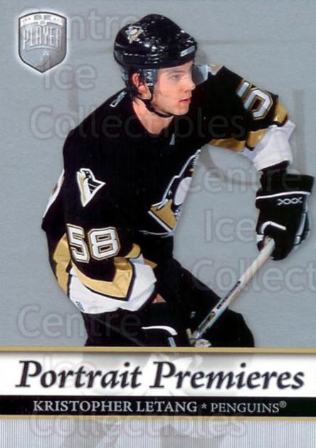 2006-07 Be A Player Portraits #119 Kristopher Letang<br/>7 In Stock - $2.00 each - <a href=https://centericecollectibles.foxycart.com/cart?name=2006-07%20Be%20A%20Player%20Portraits%20%23119%20Kristopher%20Leta...&quantity_max=7&price=$2.00&code=276631 class=foxycart> Buy it now! </a>