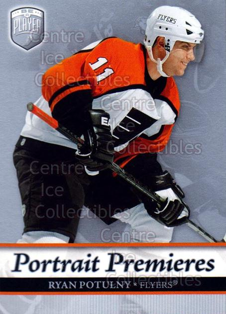 2006-07 Be A Player Portraits #120 Ryan Potulny<br/>9 In Stock - $2.00 each - <a href=https://centericecollectibles.foxycart.com/cart?name=2006-07%20Be%20A%20Player%20Portraits%20%23120%20Ryan%20Potulny...&quantity_max=9&price=$2.00&code=276632 class=foxycart> Buy it now! </a>