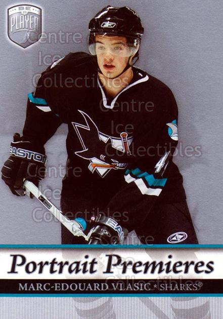 2006-07 Be A Player Portraits #122 Marc-Edouard Vlasic<br/>14 In Stock - $2.00 each - <a href=https://centericecollectibles.foxycart.com/cart?name=2006-07%20Be%20A%20Player%20Portraits%20%23122%20Marc-Edouard%20Vl...&quantity_max=14&price=$2.00&code=276634 class=foxycart> Buy it now! </a>