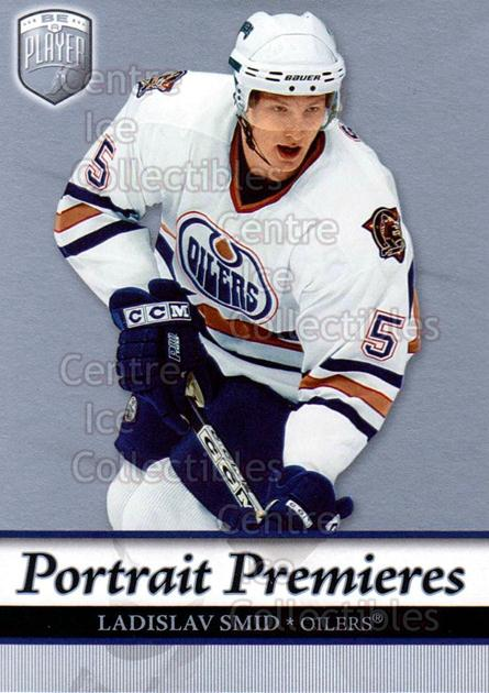 2006-07 Be A Player Portraits #124 Ladislav Smid<br/>10 In Stock - $2.00 each - <a href=https://centericecollectibles.foxycart.com/cart?name=2006-07%20Be%20A%20Player%20Portraits%20%23124%20Ladislav%20Smid...&quantity_max=10&price=$2.00&code=276636 class=foxycart> Buy it now! </a>