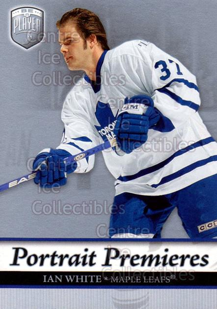 2006-07 Be A Player Portraits #128 Ian White<br/>12 In Stock - $2.00 each - <a href=https://centericecollectibles.foxycart.com/cart?name=2006-07%20Be%20A%20Player%20Portraits%20%23128%20Ian%20White...&quantity_max=12&price=$2.00&code=276640 class=foxycart> Buy it now! </a>