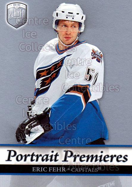 2006-07 Be A Player Portraits #130 Eric Fehr<br/>13 In Stock - $2.00 each - <a href=https://centericecollectibles.foxycart.com/cart?name=2006-07%20Be%20A%20Player%20Portraits%20%23130%20Eric%20Fehr...&quantity_max=13&price=$2.00&code=276642 class=foxycart> Buy it now! </a>
