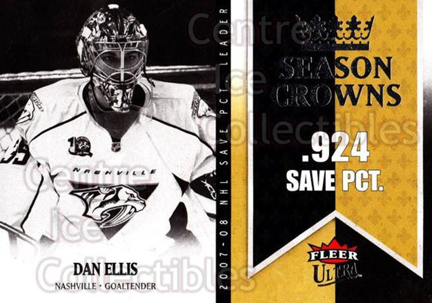 2008-09 Ultra Season Crowns #5 Dan Ellis<br/>3 In Stock - $2.00 each - <a href=https://centericecollectibles.foxycart.com/cart?name=2008-09%20Ultra%20Season%20Crowns%20%235%20Dan%20Ellis...&quantity_max=3&price=$2.00&code=276707 class=foxycart> Buy it now! </a>