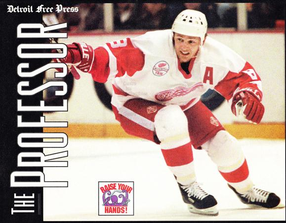 1999-00 Detroit Red Wings Free Press Black #5 Igor Larionov<br/>1 In Stock - $10.00 each - <a href=https://centericecollectibles.foxycart.com/cart?name=1999-00%20Detroit%20Red%20Wings%20Free%20Press%20Black%20%235%20Igor%20Larionov...&quantity_max=1&price=$10.00&code=276751 class=foxycart> Buy it now! </a>