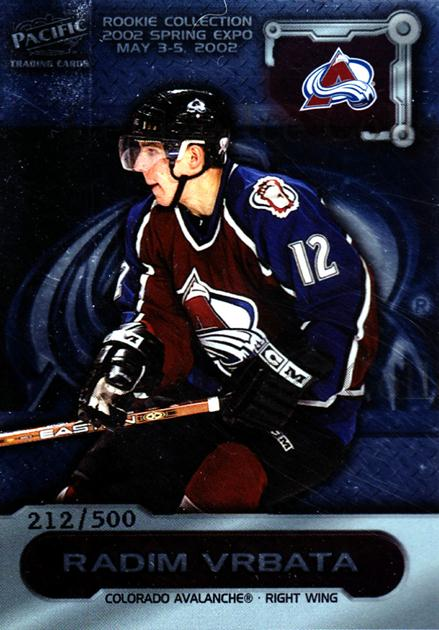 2002 Pacific Toronto Spring Expo Redemption #4 Radim Vrbata<br/>3 In Stock - $3.00 each - <a href=https://centericecollectibles.foxycart.com/cart?name=2002%20Pacific%20Toronto%20Spring%20Expo%20Redemption%20%234%20Radim%20Vrbata...&quantity_max=3&price=$3.00&code=276753 class=foxycart> Buy it now! </a>