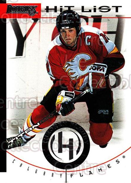 1996-97 Donruss Hit List #20 Theo Fleury<br/>6 In Stock - $2.00 each - <a href=https://centericecollectibles.foxycart.com/cart?name=1996-97%20Donruss%20Hit%20List%20%2320%20Theo%20Fleury...&quantity_max=6&price=$2.00&code=276809 class=foxycart> Buy it now! </a>
