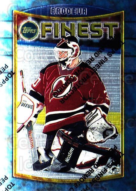 1994-95 Finest #71 Martin Brodeur<br/>1 In Stock - $2.00 each - <a href=https://centericecollectibles.foxycart.com/cart?name=1994-95%20Finest%20%2371%20Martin%20Brodeur...&price=$2.00&code=276854 class=foxycart> Buy it now! </a>