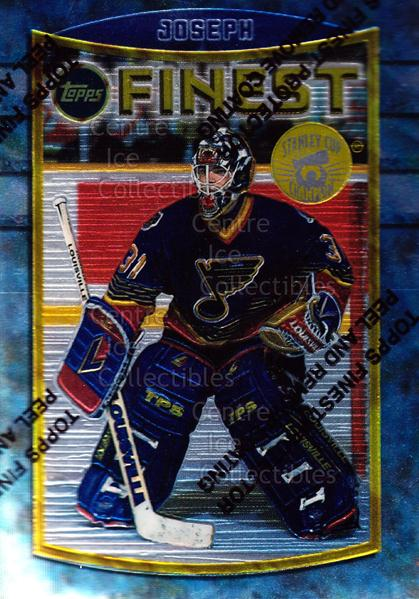 1994-95 Finest Super Team Winner Redeemed #29 Curtis Joseph<br/>8 In Stock - $2.00 each - <a href=https://centericecollectibles.foxycart.com/cart?name=1994-95%20Finest%20Super%20Team%20Winner%20Redeemed%20%2329%20Curtis%20Joseph...&quantity_max=8&price=$2.00&code=276867 class=foxycart> Buy it now! </a>