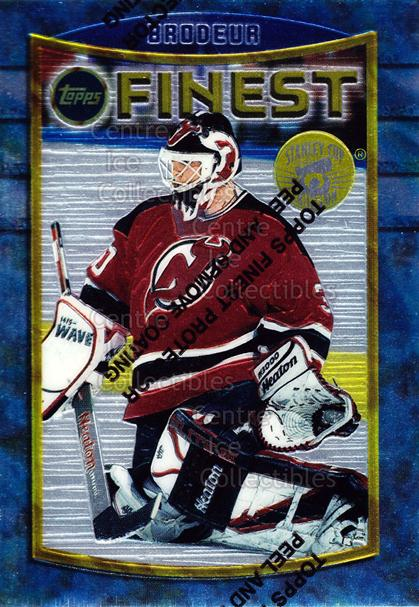 1994-95 Finest Super Team Winner Redeemed #71 Martin Brodeur<br/>4 In Stock - $5.00 each - <a href=https://centericecollectibles.foxycart.com/cart?name=1994-95%20Finest%20Super%20Team%20Winner%20Redeemed%20%2371%20Martin%20Brodeur...&price=$5.00&code=276877 class=foxycart> Buy it now! </a>