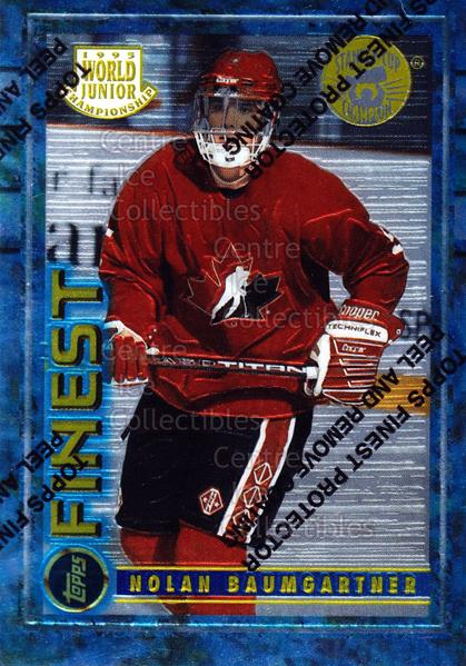 1994-95 Finest Super Team Winner Redeemed #148 Nolan Baumgartner<br/>6 In Stock - $2.00 each - <a href=https://centericecollectibles.foxycart.com/cart?name=1994-95%20Finest%20Super%20Team%20Winner%20Redeemed%20%23148%20Nolan%20Baumgartn...&quantity_max=6&price=$2.00&code=276889 class=foxycart> Buy it now! </a>