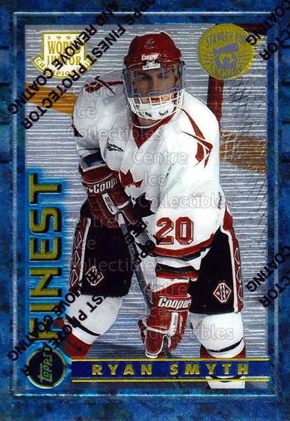 1994-95 Finest Super Team Winner Redeemed #165 Ryan Smyth<br/>3 In Stock - $3.00 each - <a href=https://centericecollectibles.foxycart.com/cart?name=1994-95%20Finest%20Super%20Team%20Winner%20Redeemed%20%23165%20Ryan%20Smyth...&price=$3.00&code=276892 class=foxycart> Buy it now! </a>