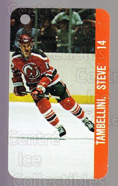 1983-84 NHL Key Tags #75 Steve Tambellini, Brent Ashton<br/>15 In Stock - $2.00 each - <a href=https://centericecollectibles.foxycart.com/cart?name=1983-84%20NHL%20Key%20Tags%20%2375%20Steve%20Tambellin...&quantity_max=15&price=$2.00&code=27696 class=foxycart> Buy it now! </a>