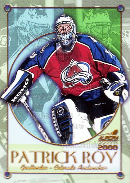 1999-00 Aurora Championship Fever #8 Patrick Roy<br/>4 In Stock - $5.00 each - <a href=https://centericecollectibles.foxycart.com/cart?name=1999-00%20Aurora%20Championship%20Fever%20%238%20Patrick%20Roy...&quantity_max=4&price=$5.00&code=277017 class=foxycart> Buy it now! </a>