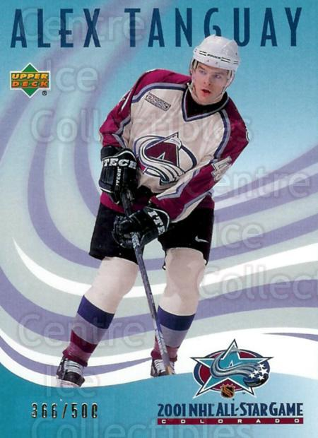 2001 UD Colorado Avalanche AS #CA4 Alex Tanguay<br/>2 In Stock - $5.00 each - <a href=https://centericecollectibles.foxycart.com/cart?name=2001%20UD%20Colorado%20Avalanche%20AS%20%23CA4%20Alex%20Tanguay...&quantity_max=2&price=$5.00&code=277358 class=foxycart> Buy it now! </a>