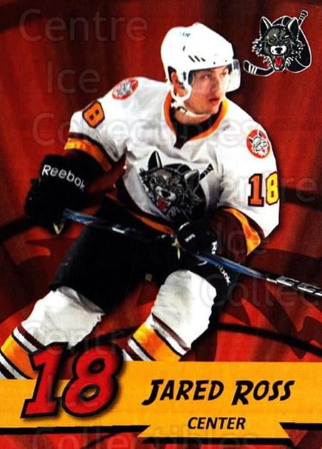2010-11 Chicago Wolves #12 Jared Ross<br/>3 In Stock - $3.00 each - <a href=https://centericecollectibles.foxycart.com/cart?name=2010-11%20Chicago%20Wolves%20%2312%20Jared%20Ross...&quantity_max=3&price=$3.00&code=277397 class=foxycart> Buy it now! </a>