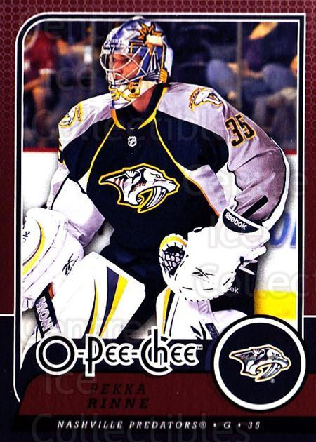 2008-09 O-Pee-chee #734 Pekka Rinne<br/>1 In Stock - $1.00 each - <a href=https://centericecollectibles.foxycart.com/cart?name=2008-09%20O-Pee-chee%20%23734%20Pekka%20Rinne...&quantity_max=1&price=$1.00&code=277664 class=foxycart> Buy it now! </a>
