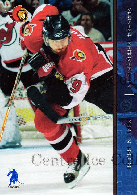 2003-04 BAP Memorabilia Sapphire #51 Martin Havlat<br/>3 In Stock - $5.00 each - <a href=https://centericecollectibles.foxycart.com/cart?name=2003-04%20BAP%20Memorabilia%20Sapphire%20%2351%20Martin%20Havlat...&quantity_max=3&price=$5.00&code=277849 class=foxycart> Buy it now! </a>