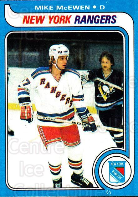 1979-80 Topps #66 Mike McEwen<br/>1 In Stock - $1.00 each - <a href=https://centericecollectibles.foxycart.com/cart?name=1979-80%20Topps%20%2366%20Mike%20McEwen...&quantity_max=1&price=$1.00&code=278006 class=foxycart> Buy it now! </a>