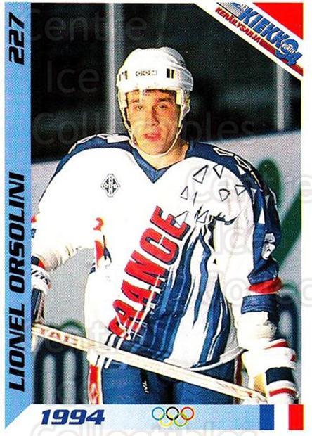 1994 Finnish Jaa Kiekko #227 Lionel Orsolini<br/>3 In Stock - $2.00 each - <a href=https://centericecollectibles.foxycart.com/cart?name=1994%20Finnish%20Jaa%20Kiekko%20%23227%20Lionel%20Orsolini...&quantity_max=3&price=$2.00&code=2781 class=foxycart> Buy it now! </a>