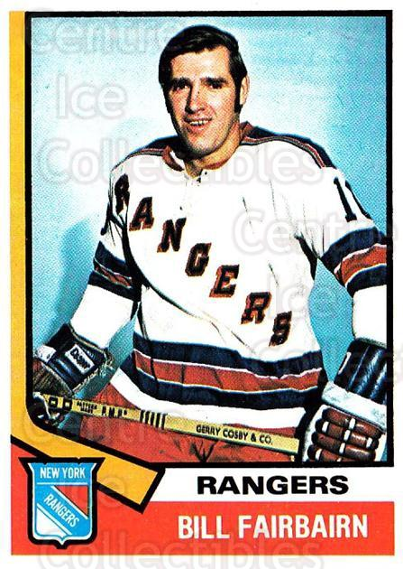 1974-75 Topps #231 Bill Fairbairn<br/>4 In Stock - $2.00 each - <a href=https://centericecollectibles.foxycart.com/cart?name=1974-75%20Topps%20%23231%20Bill%20Fairbairn...&quantity_max=4&price=$2.00&code=278250 class=foxycart> Buy it now! </a>