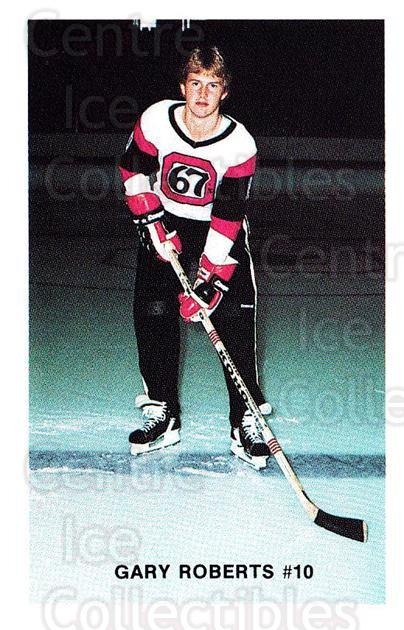 1983-84 Ottawa 67s #24 Gary Roberts<br/>1 In Stock - $10.00 each - <a href=https://centericecollectibles.foxycart.com/cart?name=1983-84%20Ottawa%2067s%20%2324%20Gary%20Roberts...&quantity_max=1&price=$10.00&code=278339 class=foxycart> Buy it now! </a>