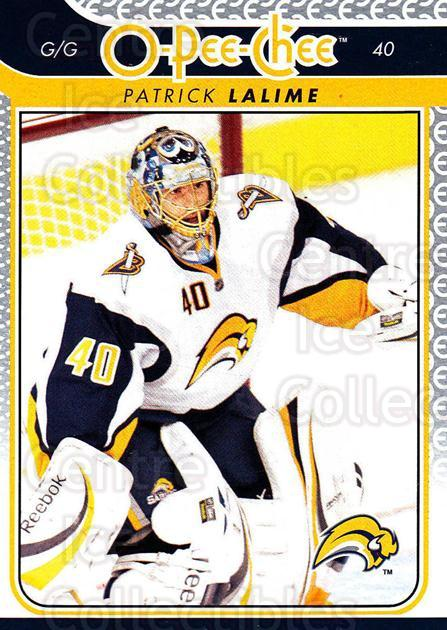 2009-10 O-pee-chee #3 Patrick Lalime<br/>2 In Stock - $1.00 each - <a href=https://centericecollectibles.foxycart.com/cart?name=2009-10%20O-pee-chee%20%233%20Patrick%20Lalime...&quantity_max=2&price=$1.00&code=278345 class=foxycart> Buy it now! </a>