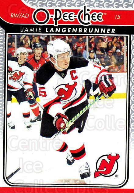 2009-10 O-pee-chee #11 Jamie Langenbrunner<br/>3 In Stock - $1.00 each - <a href=https://centericecollectibles.foxycart.com/cart?name=2009-10%20O-pee-chee%20%2311%20Jamie%20Langenbru...&quantity_max=3&price=$1.00&code=278353 class=foxycart> Buy it now! </a>