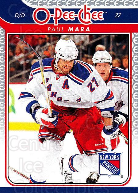2009-10 O-pee-chee #12 Paul Mara<br/>4 In Stock - $1.00 each - <a href=https://centericecollectibles.foxycart.com/cart?name=2009-10%20O-pee-chee%20%2312%20Paul%20Mara...&quantity_max=4&price=$1.00&code=278354 class=foxycart> Buy it now! </a>