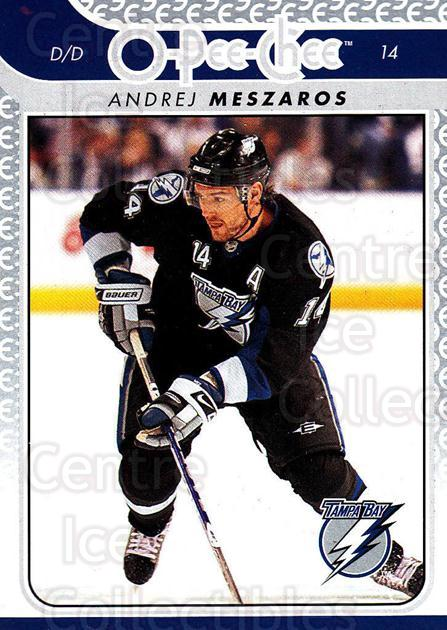 2009-10 O-pee-chee #16 Andrej Meszaros<br/>3 In Stock - $1.00 each - <a href=https://centericecollectibles.foxycart.com/cart?name=2009-10%20O-pee-chee%20%2316%20Andrej%20Meszaros...&quantity_max=3&price=$1.00&code=278358 class=foxycart> Buy it now! </a>