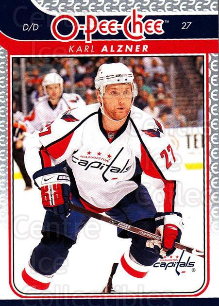2009-10 O-pee-chee #18 Karl Alzner<br/>3 In Stock - $1.00 each - <a href=https://centericecollectibles.foxycart.com/cart?name=2009-10%20O-pee-chee%20%2318%20Karl%20Alzner...&quantity_max=3&price=$1.00&code=278360 class=foxycart> Buy it now! </a>