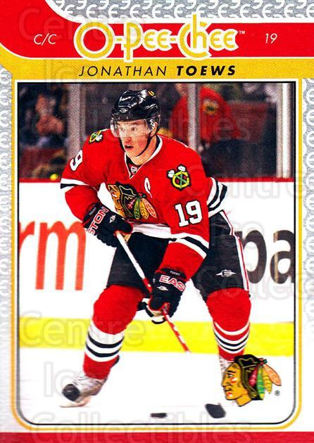 2009-10 O-pee-chee #19 Jonathan Toews<br/>1 In Stock - $2.00 each - <a href=https://centericecollectibles.foxycart.com/cart?name=2009-10%20O-pee-chee%20%2319%20Jonathan%20Toews...&quantity_max=1&price=$2.00&code=278361 class=foxycart> Buy it now! </a>