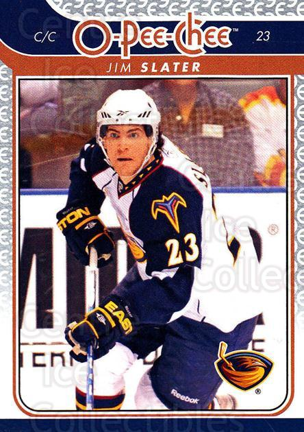 2009-10 O-pee-chee #20 Jim Slater<br/>5 In Stock - $1.00 each - <a href=https://centericecollectibles.foxycart.com/cart?name=2009-10%20O-pee-chee%20%2320%20Jim%20Slater...&quantity_max=5&price=$1.00&code=278362 class=foxycart> Buy it now! </a>