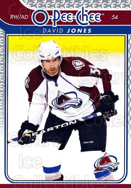 2009-10 O-pee-chee #24 David Jones<br/>4 In Stock - $1.00 each - <a href=https://centericecollectibles.foxycart.com/cart?name=2009-10%20O-pee-chee%20%2324%20David%20Jones...&quantity_max=4&price=$1.00&code=278366 class=foxycart> Buy it now! </a>