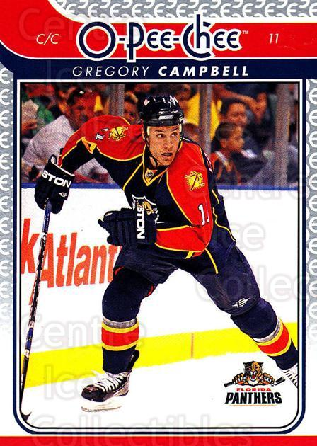 2009-10 O-pee-chee #27 Gregory Campbell<br/>3 In Stock - $1.00 each - <a href=https://centericecollectibles.foxycart.com/cart?name=2009-10%20O-pee-chee%20%2327%20Gregory%20Campbel...&quantity_max=3&price=$1.00&code=278369 class=foxycart> Buy it now! </a>