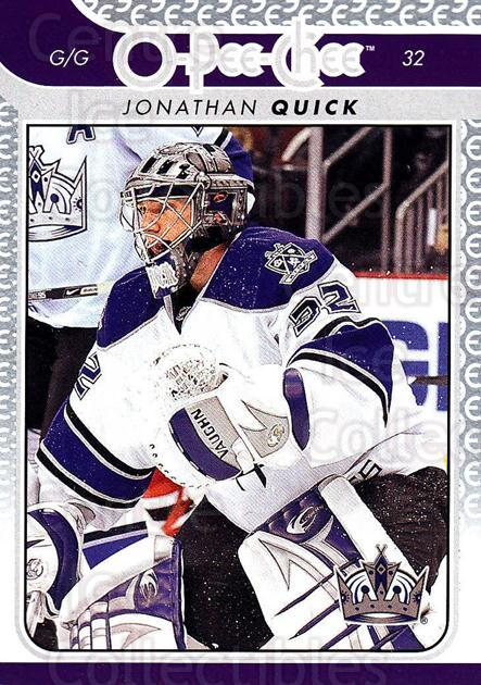 2009-10 O-pee-chee #28 Jonathan Quick<br/>3 In Stock - $2.00 each - <a href=https://centericecollectibles.foxycart.com/cart?name=2009-10%20O-pee-chee%20%2328%20Jonathan%20Quick...&quantity_max=3&price=$2.00&code=278370 class=foxycart> Buy it now! </a>