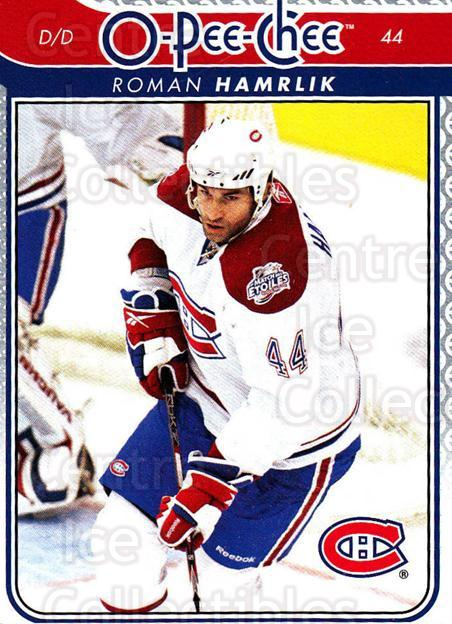2009-10 O-pee-chee #29 Roman Hamrlik<br/>3 In Stock - $1.00 each - <a href=https://centericecollectibles.foxycart.com/cart?name=2009-10%20O-pee-chee%20%2329%20Roman%20Hamrlik...&quantity_max=3&price=$1.00&code=278371 class=foxycart> Buy it now! </a>
