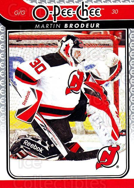 2009-10 O-pee-chee #30 Martin Brodeur<br/>1 In Stock - $2.00 each - <a href=https://centericecollectibles.foxycart.com/cart?name=2009-10%20O-pee-chee%20%2330%20Martin%20Brodeur...&quantity_max=1&price=$2.00&code=278372 class=foxycart> Buy it now! </a>